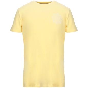 《セール開催中》LIU JO MAN メンズ T シャツ イエロー M コットン 95% / ポリウレタン 5%