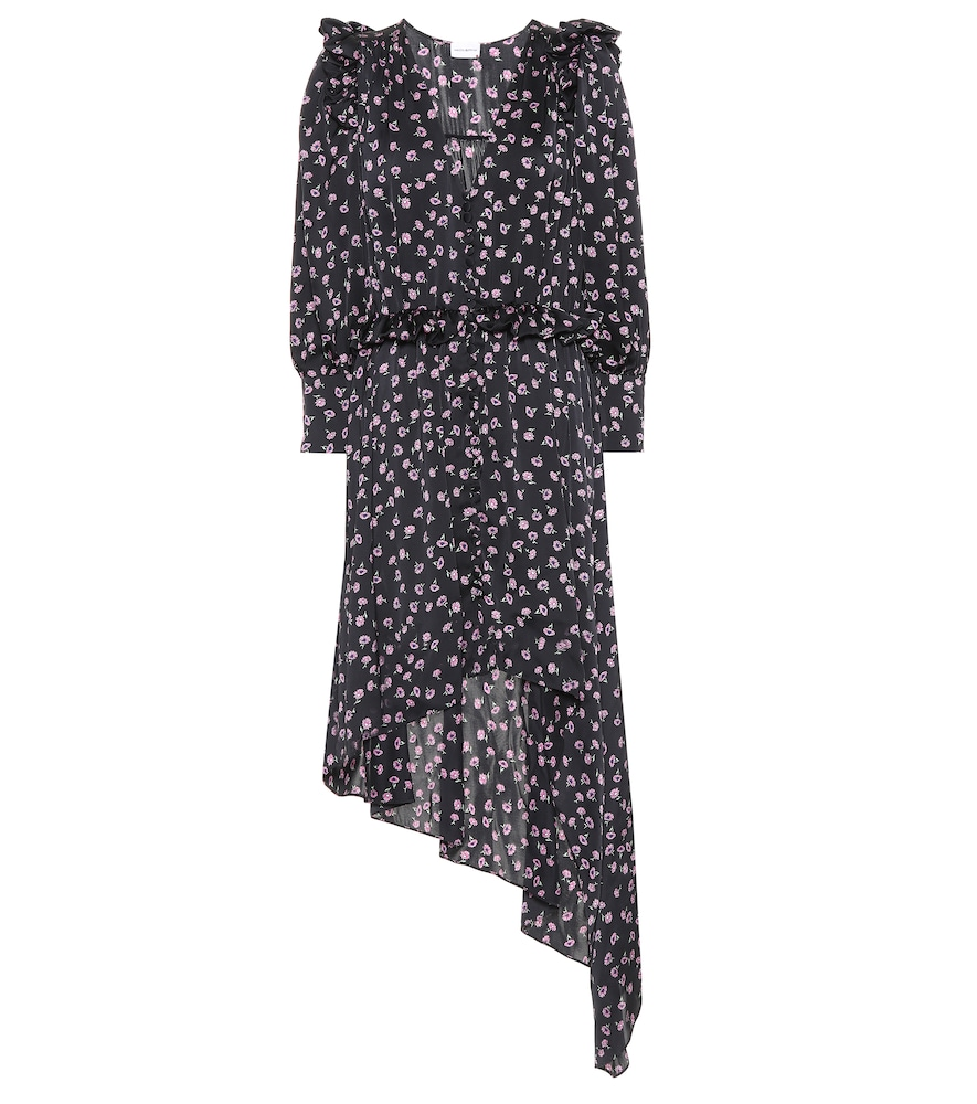 Tarragona printed silk dress
