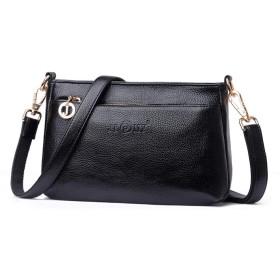 秋と冬のハンドバッグは、小さなバッグショルダー斜めのパッケージをエンボス加工しました,黒