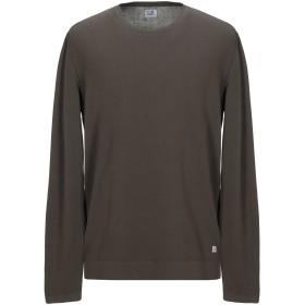 《セール開催中》C.P. COMPANY メンズ T シャツ カーキ 54 コットン 100%