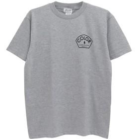 COLOR COMMUNICATIONS T-SHIRT カラーコミュニケーションズ Tシャツ DESIGN DEPT グレー,M