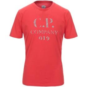 《期間限定セール開催中!》C.P. COMPANY メンズ T シャツ レッド S コットン 100%