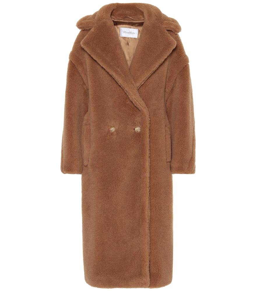 Teddy Bear Icon camel hair coat