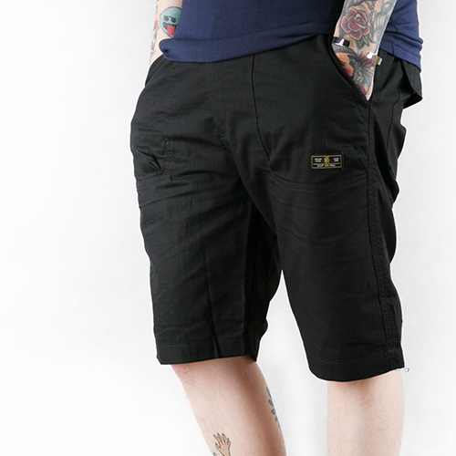 REPUTATION Ripstop / D - SHORTS.SS - 工作短褲 / 黑