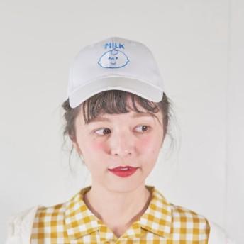 刺繍CAP(牛乳坊や)