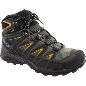 [サロモン] シューズ スニーカー X Ultra 3 Mid GOR-TEX Hiking Shoe Castor Gra メンズ [並行輸入品]