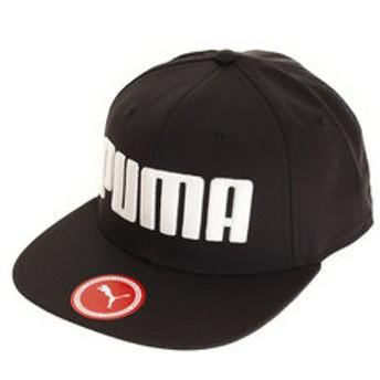 【Super Sports XEBIO & mall店:帽子】フラットブリムキャップ 021460-01 BLK