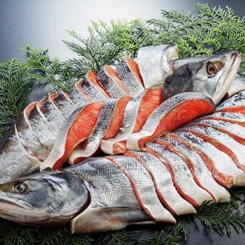 「銀聖」新巻鮭姿切身 ベルーナ ベルーナグルメ 通販