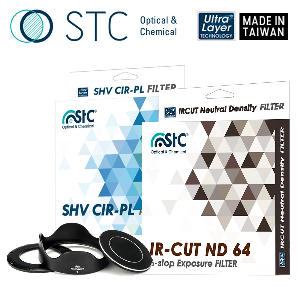【STC】轉接環快拆遮光罩組 for SONY RX100/ZV1 系列相機 CPL高解析偏光鏡+ND零色偏減光鏡套組