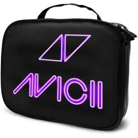 アビシイ Avicii 化粧品収納ボックプロ用化粧ペンポケット メイクボックス 化粧道具入れ ジッパー付き 大容量 多機能 持ち運び便利 自宅 出張 旅行用 男女兼用