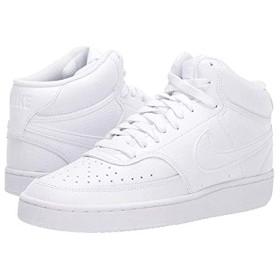 [ナイキ] レディーススニーカー・靴・シューズ Court Vision Mid White/White/White (27.5cm) B - Medium [並行輸入品]