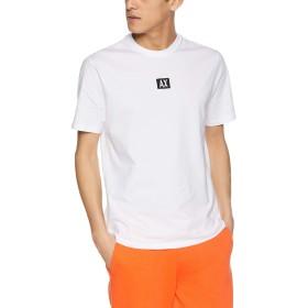 [A Xアルマーニ エクスチェンジ] Tシャツ (A X アルマーニ エクスチェンジ) AX ARMANI EXCHANGE ロゴTシャツ 3GZTAB/ZJ6AZ メンズ WHITE US L (日本サイズM相当)