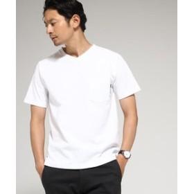 【BASE STATION:トップス】Tシャツ メンズ Vネック WEB限定