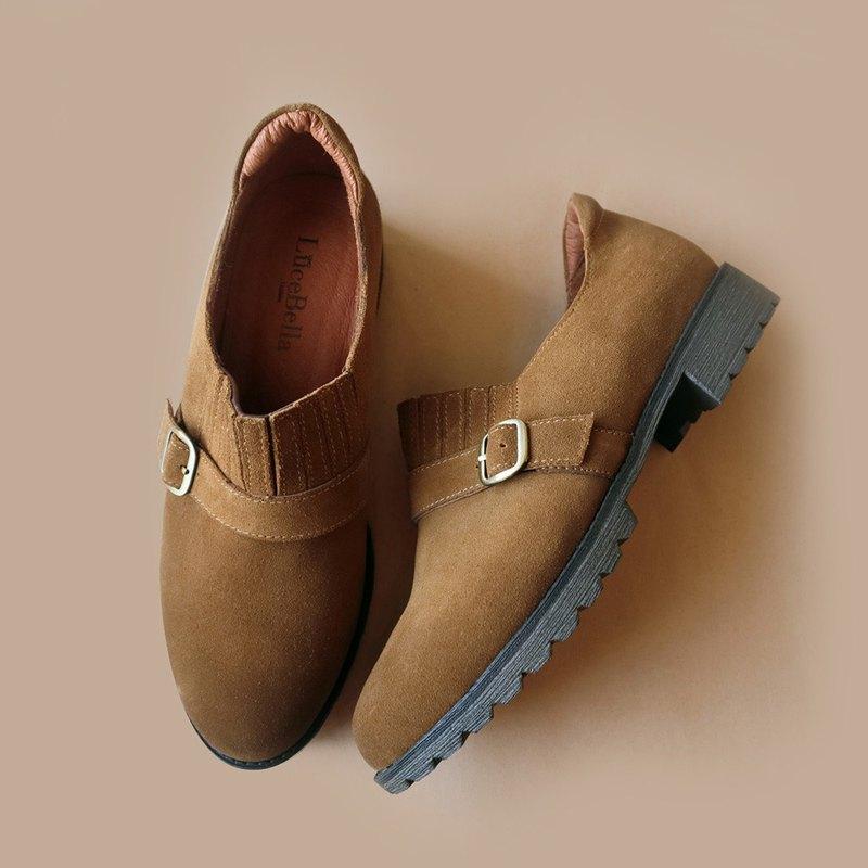 【時光為水】3M防水牛津鞋-棕黃