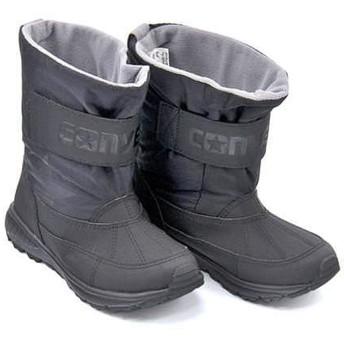 [コンバース] 女の子 キッズ 子供靴 運動靴 通学靴 ウィンターブーツ キッズCVスターブーツWR 撥水 カジュアル スクール 学校 KIDS CVSTAR BOOTS WR 37300261 ブラック 20.0cm