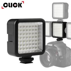 CLICK柯雷卡 LED49熱靴迷你閃光燈/補光燈
