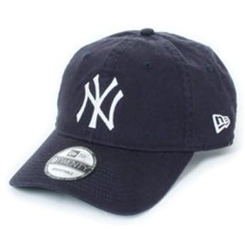 【Super Sports XEBIO & mall店:帽子】9TWENTY ウォッシュドコットン NYロゴ NVY SW 11308520