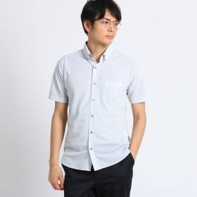 TAKEO KIKUCHI(タケオキクチ:メンズ)/[吸汗速乾 ドライタッチ]番千鳥柄 前開きポロシャツ