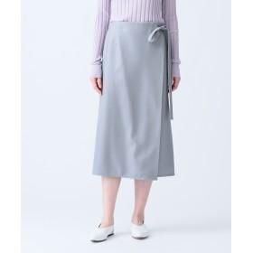 【オンワード】 JOSEPH WOMEN(ジョゼフ ウィメン) PILE / LUSTER MELTON スカート ライトグレー 42 レディース 【送料無料】