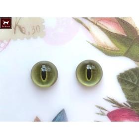 猫目グラスアイ 12ミリ OG01-12