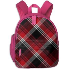 リュック 子供用 キッズ バッグ チェック 赤い 黒い 四角 かわいい 保育園 幼稚園 リュックサック 通園 入園 入学 低学年 軽量 おしゃれ 中学生 男の子 女の子 遠足 お祝い 迷子防止 ピンク ネイビー プレゼント 個性 BOLACO