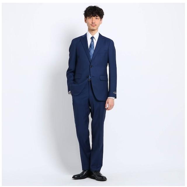 【タケオキクチ/TAKEO KIKUCHI】 チェック 2Bスーツ Fabric by Marzotto