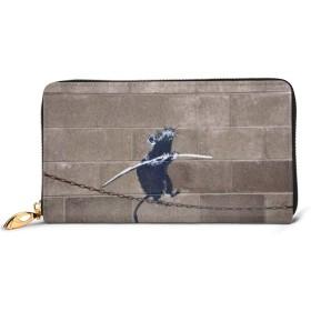 財布 長財布 定期入れ Banksy バンクシー マイケルコース バッグ 大容量 収納 長札 小銭入れ カード