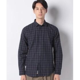 [マルイ]【セール】ツイル起毛チェックシャツ/シスレー メンズ(SISLEY)