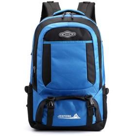 男性のカジュアルなアウトドアバックパックコンピュータバッグショルダーバッグスポーツバッグの登山,空色,17インチ
