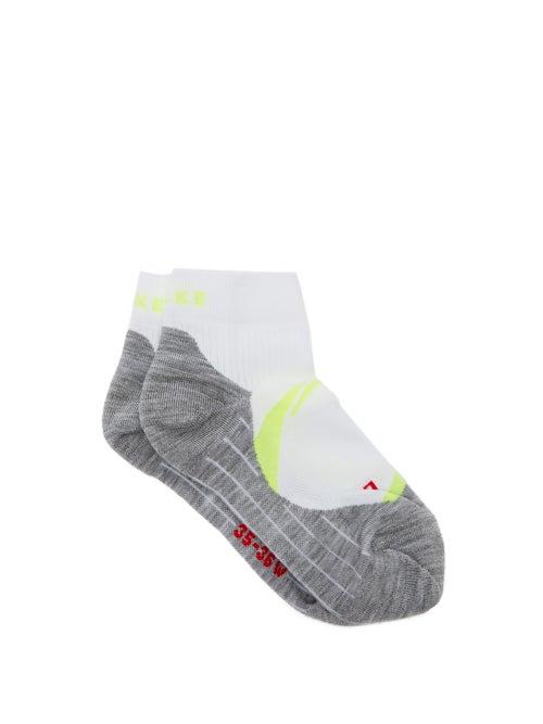 Falke - Ru4 Trainer Socks - Womens - Yellow White