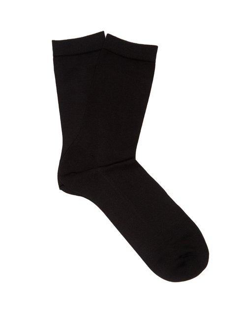 Falke - Sensual Ankle Socks - Womens - Black