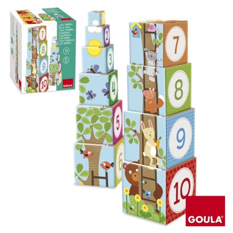 西班牙 GOULA - 【新品】叢林疊疊樂-3歲以上