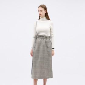 [マルイ] 【UJOH】WOMEN 別注 ワンショルダースカート サコッシュ付き/ギルドプライム(GUILD PRIME WOMENS)