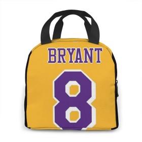 Kobe Bryant 4 弁当袋 ディナーバッグ ハンドバッグ 学生通勤 旅行野外で食事をする 昼食の包み 人気花柄 男女兼用ハンドバッグ 主婦必ず備換え 保温パック