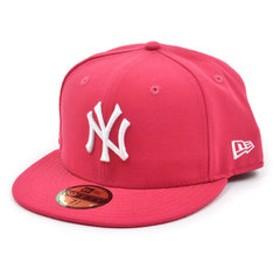 【Super Sports XEBIO & mall店:帽子】59FIFTY MLB ニューヨーク・ヤンキース ブライトローズ×ホワイト 11308561