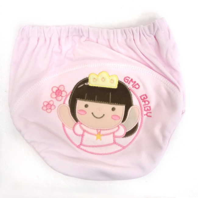東京西川GMP 公主超吸排布學習褲(粉色-女)(80/90100cm)【麗兒采家】