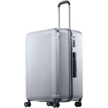 【オンワード】 ACE BAGS & LUGGAGE(エースバッグズアンドラゲージ) ace. パリセイドZ スーツケース 98L 大容量(国際基準157cm以内) 10泊 ホワイト F レディース 【送料無料】