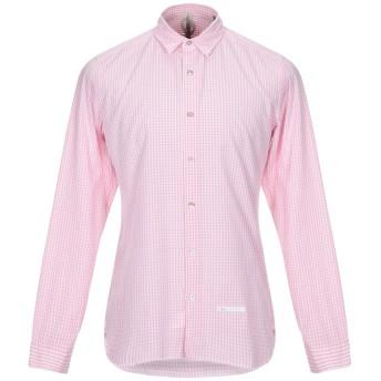 《セール開催中》DNL メンズ シャツ ピンク 39 コットン 100% / ナイロン