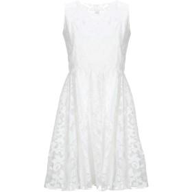 《セール開催中》FRACOMINA レディース ミニワンピース&ドレス ホワイト S ナイロン 100% / ポリエステル