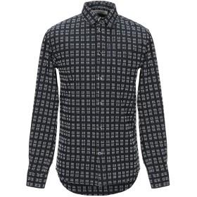 《期間限定セール開催中!》ANERKJENDT メンズ シャツ ブラック S コットン 100%