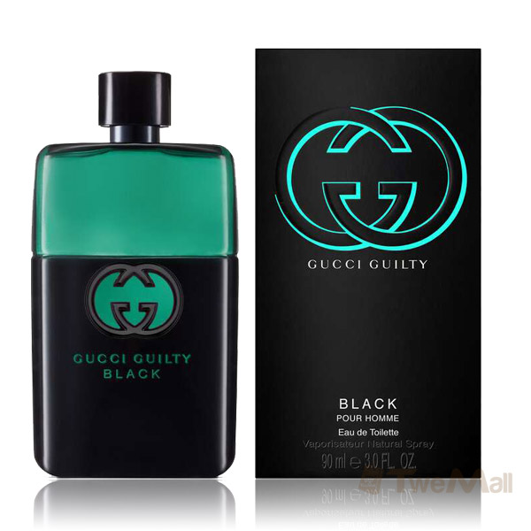 GUCCI Guilty Black 罪愛夜男性淡香水 90ml