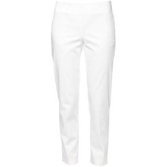 《セール開催中》ATOS LOMBARDINI レディース パンツ ホワイト 40 コットン 98% / ポリウレタン 2%