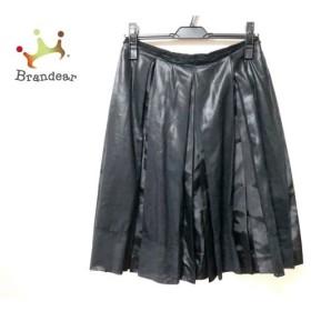 ボディドレッシングデラックス スカート サイズ38 M レディース 黒 プリーツ  値下げ 20200123