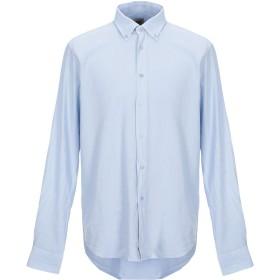 《期間限定セール開催中!》HENRY COTTON'S メンズ シャツ スカイブルー XXL 麻 60% / コットン 40%