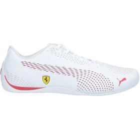 《セール開催中》PUMA メンズ スニーカー&テニスシューズ(ローカット) ホワイト 6 紡績繊維