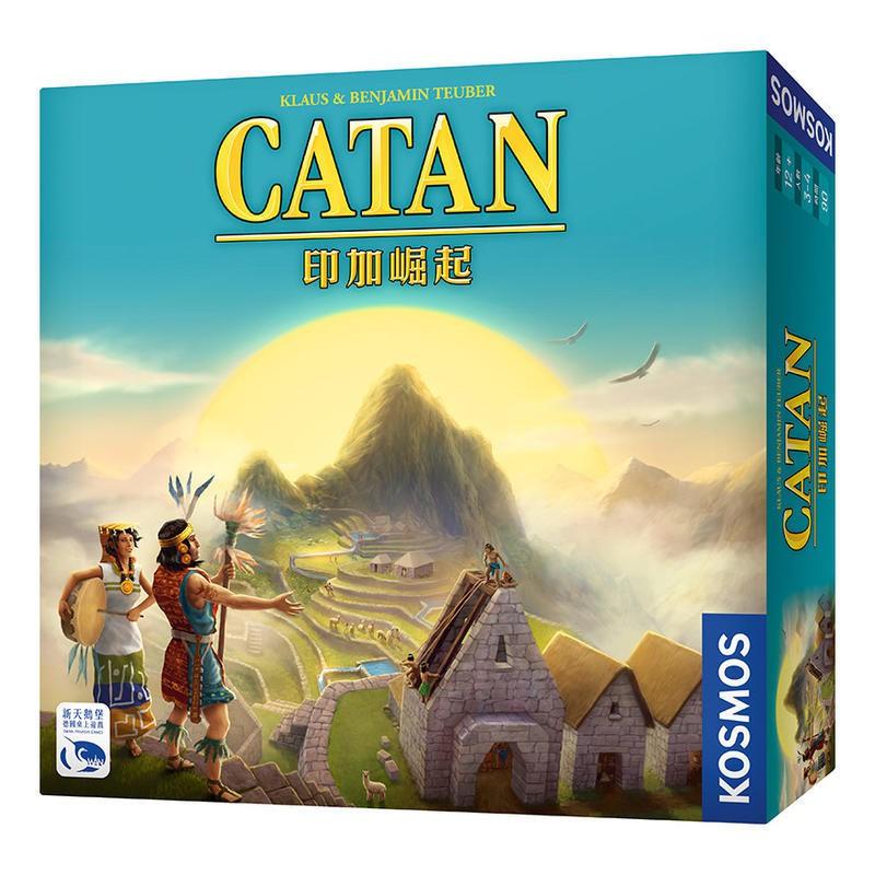 卡坦島:印加崛起 Catan Inka 繁體中文 正版桌上遊戲 陽光桌遊商城