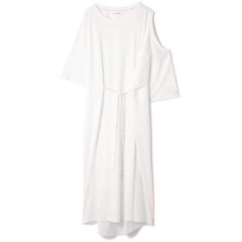 【ローズバッド/ROSEBUD】 OPEN SHOULDER DRESS