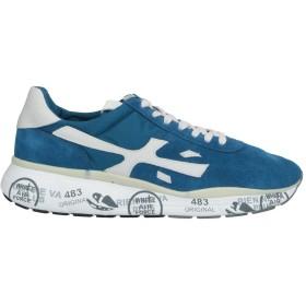 《セール開催中》PREMIATA メンズ スニーカー&テニスシューズ(ローカット) ブルー 40 革 / 紡績繊維