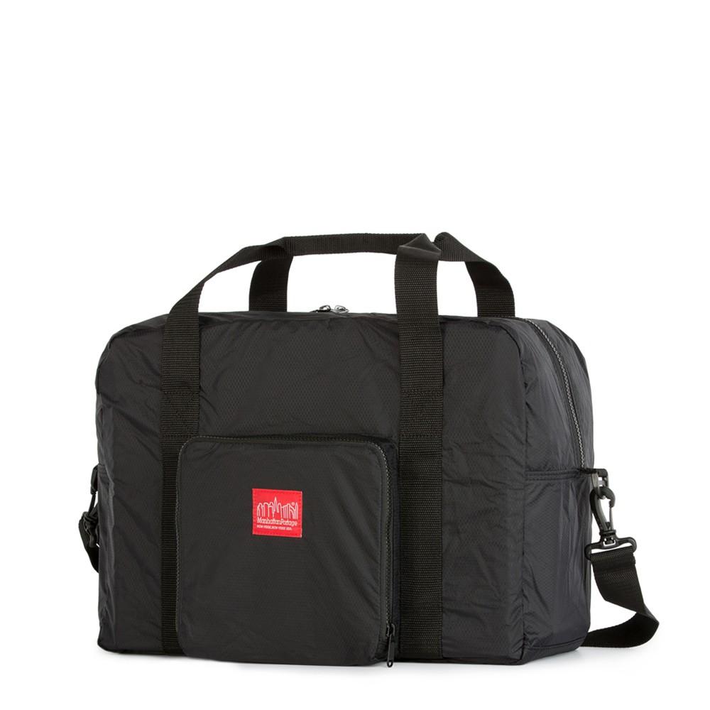 ManhattanPortage 曼哈頓 1804 可摺疊式三層旅行袋 黑【 PUNX 】