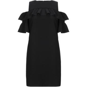 《セール開催中》LAB ANNA RACHELE レディース ミニワンピース&ドレス ブラック 40 ポリエステル 93% / ポリウレタン 7%